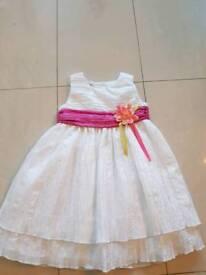 Girls zip zap dress age 4 year