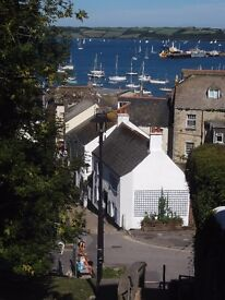 Double room available in cosy cornish cottage. Short term let only. Central Falmouth