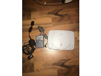 PSone Bundle. 1 PAD. 6 GAMES. ALL WIRES