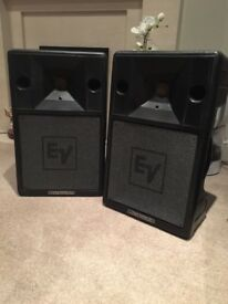 EV (electro voice) speakers.