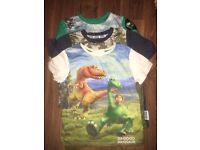 The Good Dinosaur pack of 3 tops 2-3 years