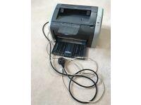 HP Laserjet 1010 Black & White printer