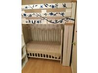 Price reduction - hand made bunk bed from pallets.