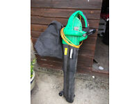Garden Blower/Vac is from Homebase, has only been used once or twice but has been stored in shed