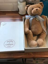 Doudou et Compagnie Teddy in box