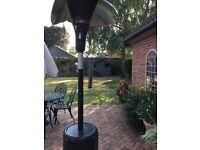 Green gas patio heater