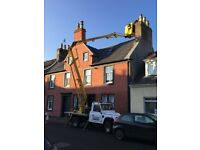 painter painting interior exterior west end cherry picker hire