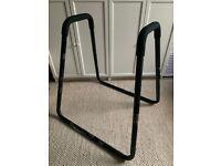 Dip Fitness Bar - 87 x 82,5 x 97,5 cm, Black
