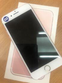 Apple iPhone 7 256gb on o2