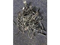 Job Lot Slatwall Fittings, Display Arms And Hooks 308 Fittings