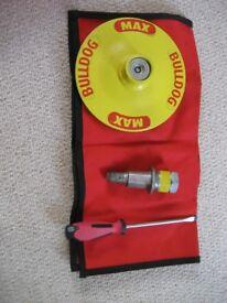 Caravan Bull Dog wheel clamp