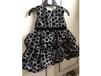 Girls Party Dress 9-12 months. Brand new