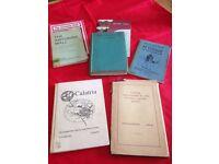 Vintage Historical Books of Falkirk, Linlithgow etc
