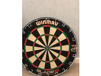 Blade 5 dart board and surround
