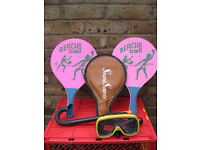 BEACH PADDLE BALL RACQUETS