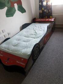 Formula 1 children single bed frame