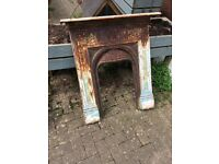 Metal fire surround needs to be restored