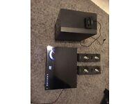 Samsung blu ray 3D DVD with surround sound