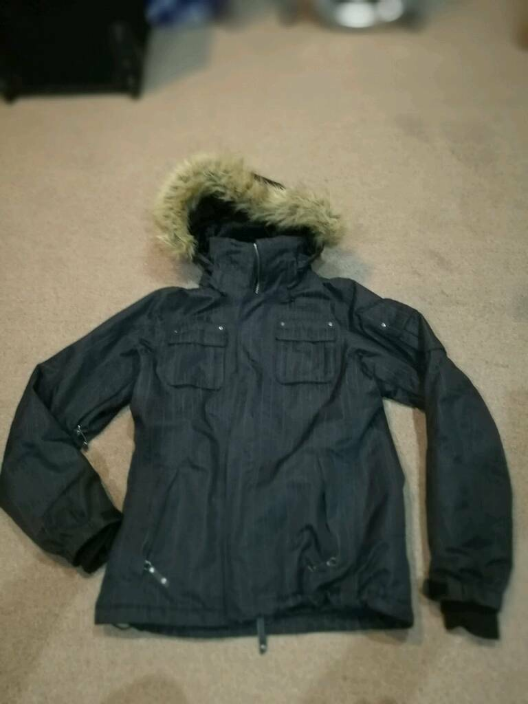 North face woman snowboard jacket size M