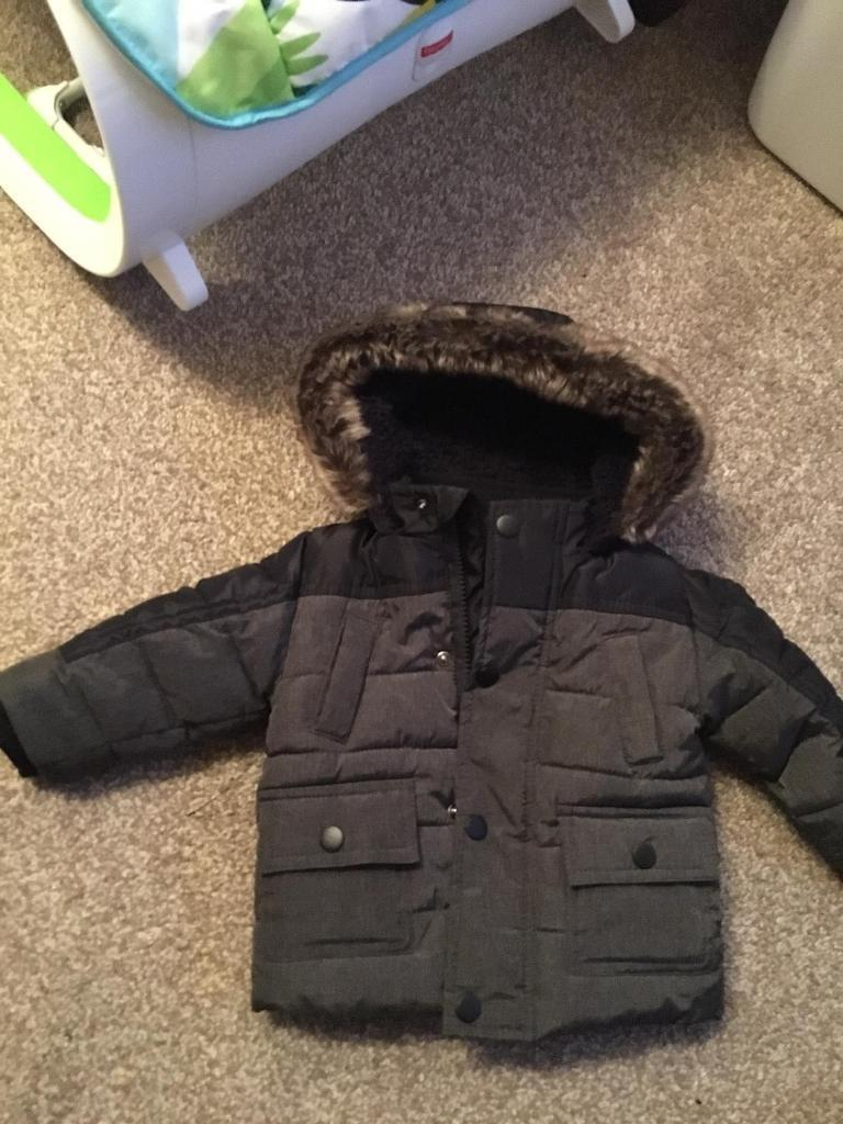 8134371443fd Baby boys coat 3-6 months brand new