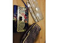 3 nr River Island Clutch Handbags