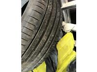 Continental contisport contact tyre 205/50/17