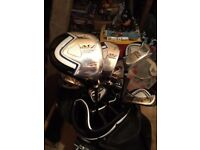 Ben Sayers M7 Ice Graphite Clubs and Trolley Bag Plus Extras Like New - Ideal Christmas Present