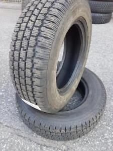 2 PNEUS HIVER - WINTERTRAC 195 70 14 - 2 WINTER TIRES