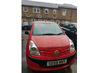 Nissan PIXO 2009 1.0L Economical LONG MOT - Only £30 Road Tax - Cheap to insure - Great Condition