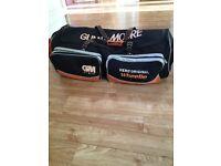 Cricket bag. Wheelie bag