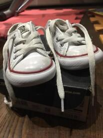 Infant Converse, size 4