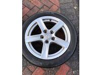 "Mazda MX5 mk3.5 genuine 16"" alloys / wheels and tyres (2007)"