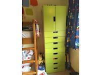 IKEA Stuva wardrobe, doors and extras