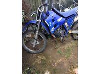 Yamaha dt not Yz Cr