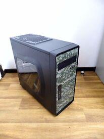 Custom Built Camouflage Gaming Computer PC (Intel i5, 8GB RAM, 500GB HD, ASUS 6850)