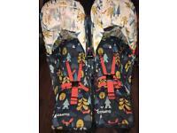 Cosatto foxtale double stroller