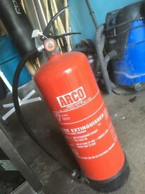 Fire extinguisher brand new never use