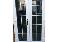 French doors, used but good condition,same as picture