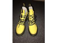 Genuine Ladies Dr martens- yellow