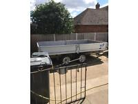 Ifor Williams trailer twin axle fully restored flatbed I for