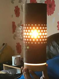 Brown pretty lamps