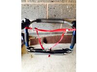 Rear two cycle bike carrier from Halfords