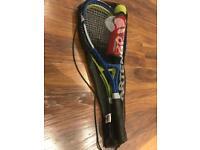 Tennis Rackets x2 with tennis balls