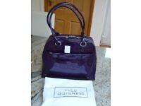 New Lulu Guinness Medium Suzy Patent Leather Handbag