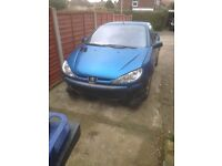peugeot 206 - for sale for parts.