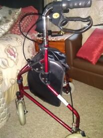 Tri walking trolley excellent condition buyer to collect