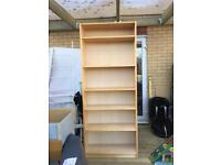 Ikea Billy Bookcases in Birch