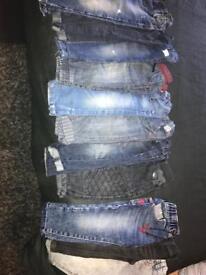 12-18 1half-2 Boys jeans 👖