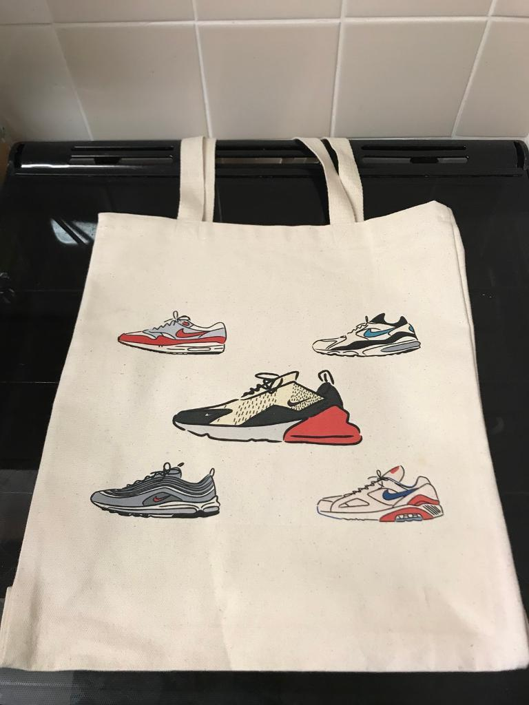 Offspring x Niallycat 2018 Nike Air Max Day tote bag for sale  7591504fc91e1