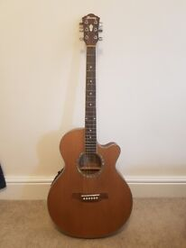 Ibanez AEG15E-LG (Electro Acoustic Guitar with Jack and XLR Output)